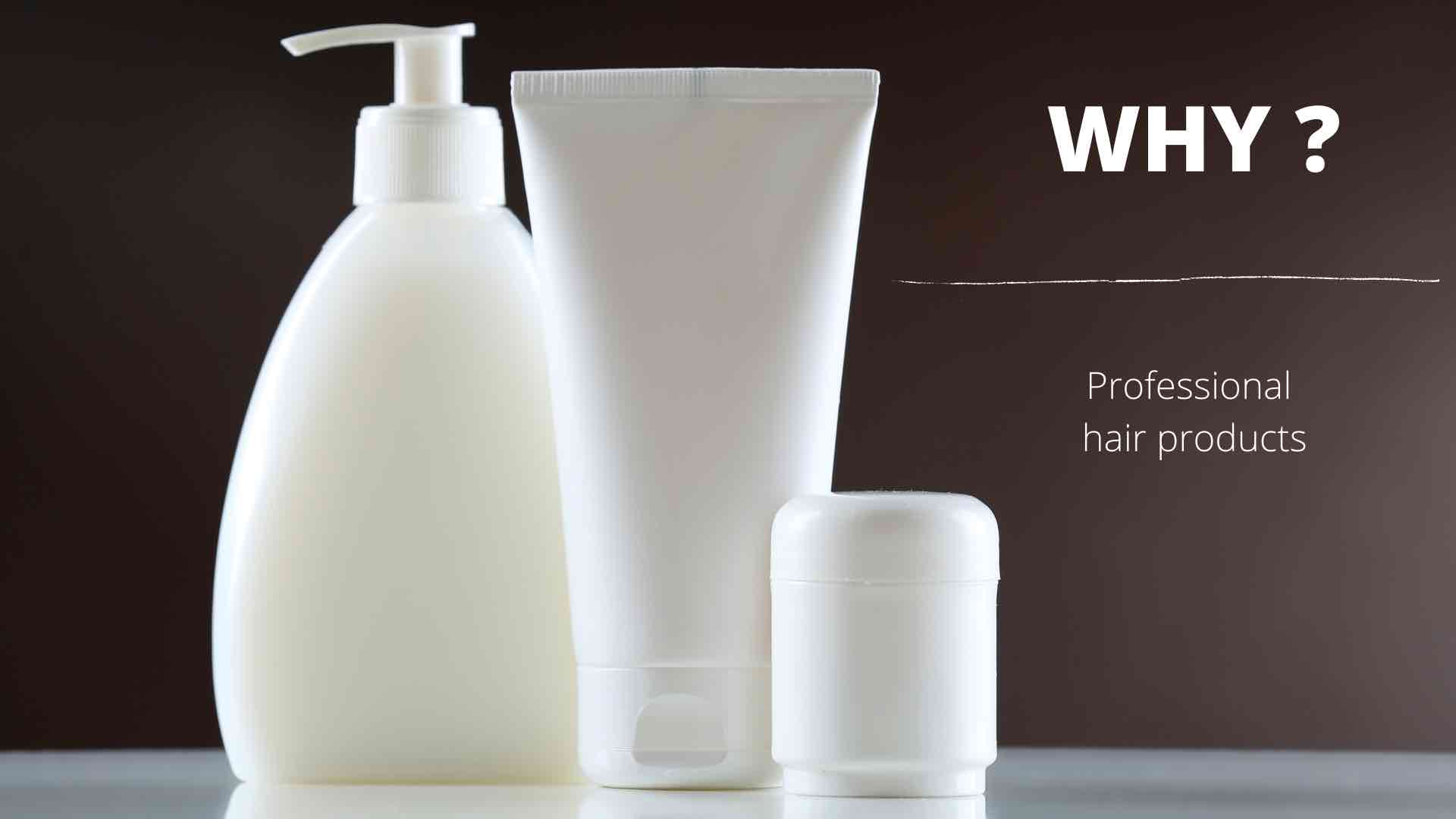 Зошто да користите професионални производи за коса?